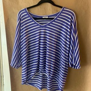 Splendid Tops - Splendid XL Striped Blouse